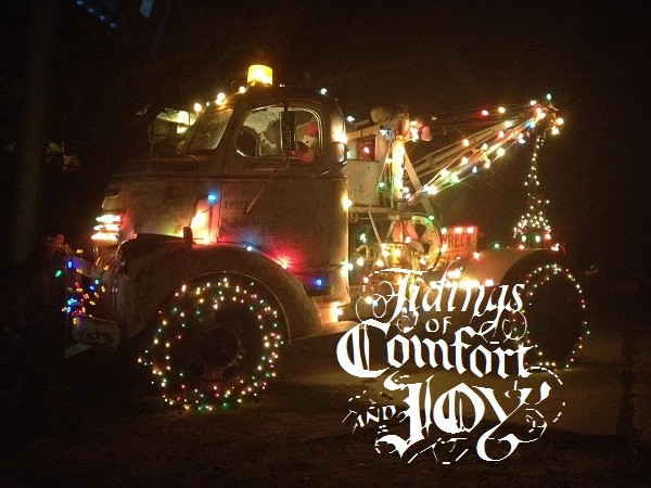 Affordable Christmas Tow Truck