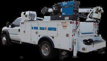 Heavy mobile service truck